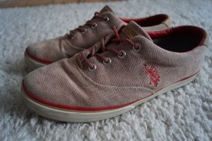 Sneaker von US Polo ASSN Gr.41 Washed Leder
