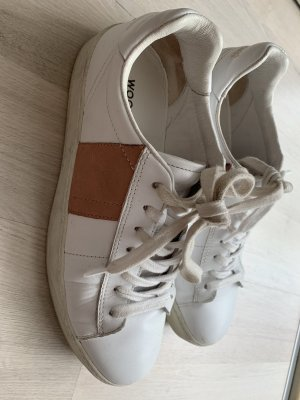 Woolrich Lace-Up Sneaker white-rose-gold-coloured