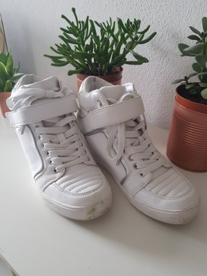 Bershka Wedge Sneaker white