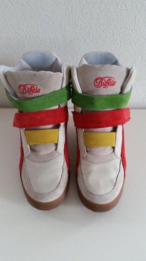 Sneaker Wedges Turnschuhe von Buffalo Gr. 39