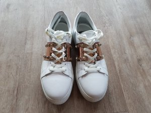 Lace-Up Sneaker multicolored leather