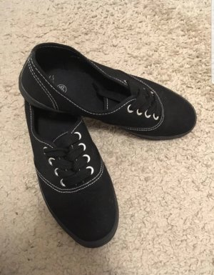 Deichmann Sneaker stringata nero