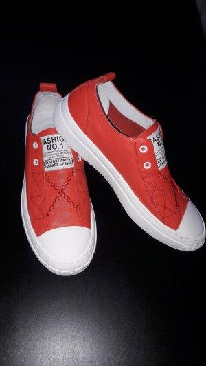 Sneakers echte Leder