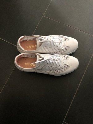 Sneakers Gr.38-Heine weiß-1x getragen