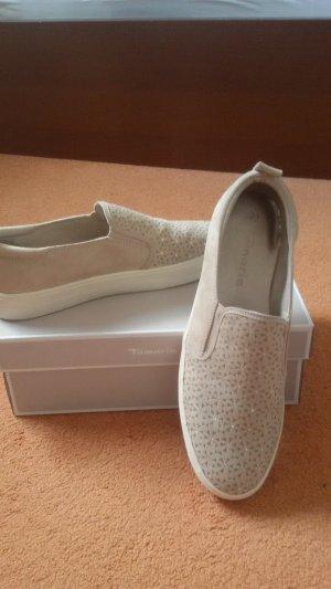 sneakers in beige
