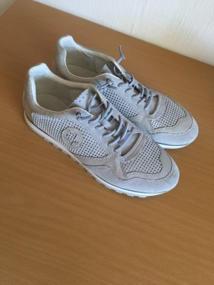 Pier one Lace-Up Sneaker silver-colored