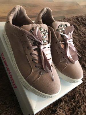 Sneakers mit Schleife - Gr 38