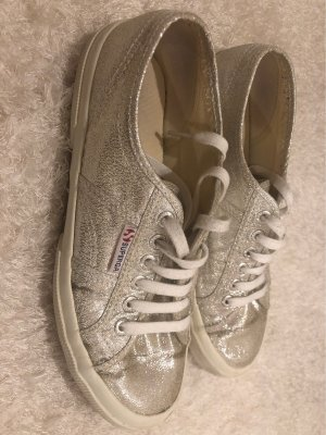 Sneakers Silber Superga Gr.40