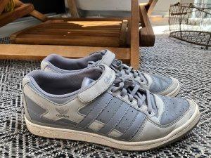 Adidas SLVR Zapatilla brogue gris claro-color plata Cuero