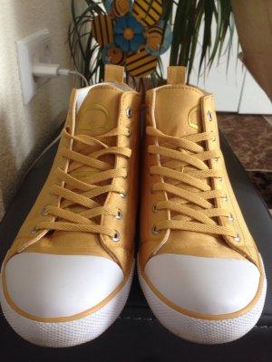 Sneakers von guess gelbgold/weiß