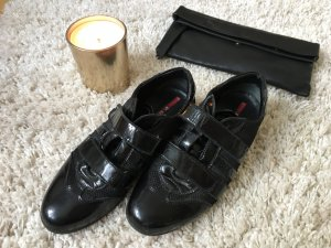 Prada Velcro Sneakers black