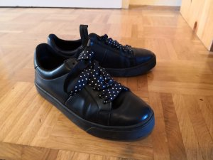 Zara Zapatilla brogue blanco-negro