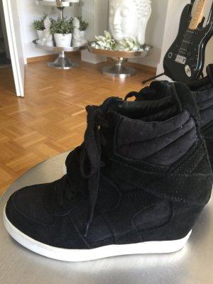 Sneakerwedges ash Bowie schwarz 38