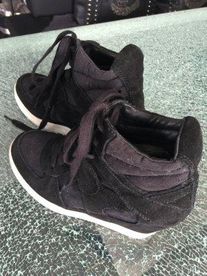 Sneakerwedges Ash schwarz 38