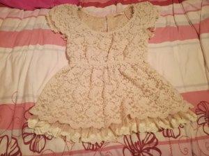 Crochet Shirt cream