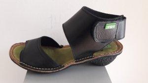 Snipes Sandalo comodo nero Pelle