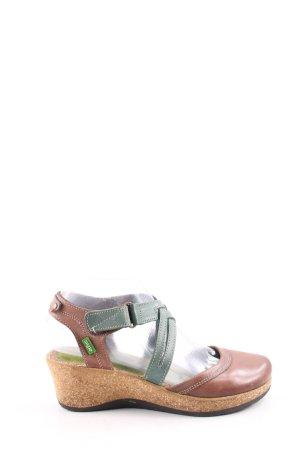 Snipe Sandale d'extérieur brun-vert style décontracté