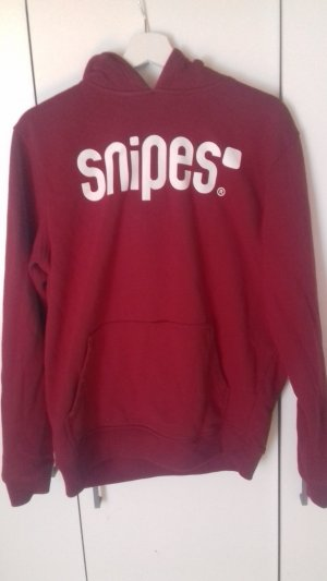 Snipes Oversized Sweater red