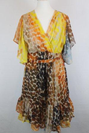 SNOB Kleid Gr. 38 coloured pattern NEU mit Etikett