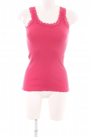 Snob Long Top pink casual look