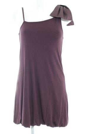 Snob Minikleid braunviolett Elegant