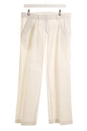 Snob Stretch Trousers cream '90s style