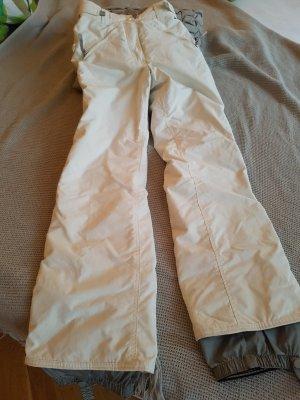 Snowboard Hose von Protest, Gr S, weiß/grau