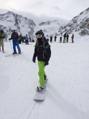 Snowboard Outfit komplett