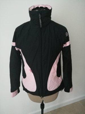 Snowboard Ski Jacke schwarz rosa