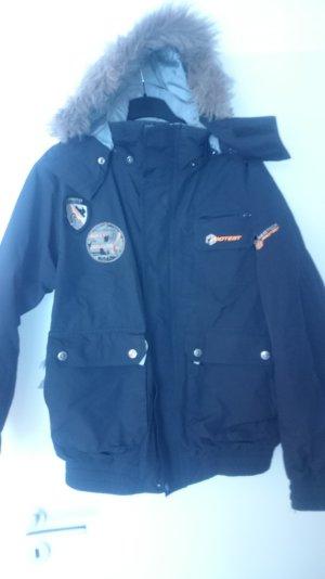 Snowboard Winter Jacke von Protest in L sehr guter Zustand! mit Fellkapuze