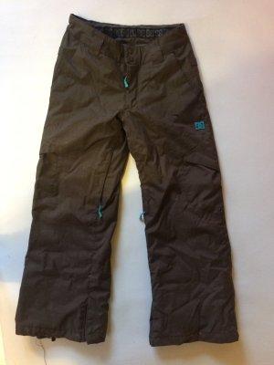 DC Classic Snow Pants black brown-turquoise