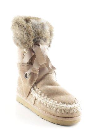 Snowboots beige Casual-Look