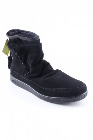 Snow Boots black casual look