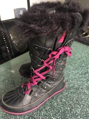 Snowboots Sorel schwarz/pink 37/38
