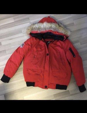 snowmass Piumino rosso-nero