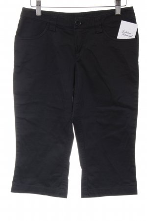 Soaked in luxury 3/4 Length Trousers black casual look