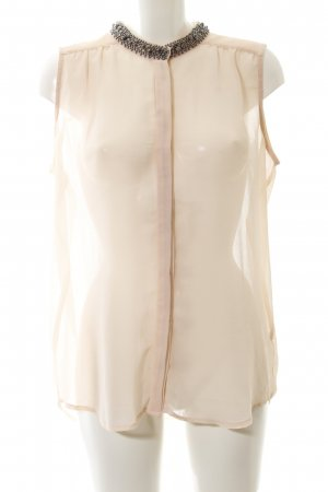 Soaked in luxury ärmellose Bluse nude Elegant