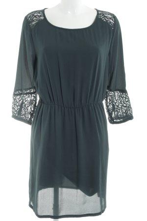 Soaked in luxury Jerseykleid dunkelgrün Business-Look