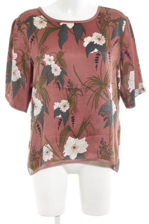 Soaked in luxury Blusa tipo kimono estampado floral look casual