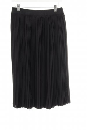 "Soaked in luxury Pleated Skirt ""Sandra skirt"" black"