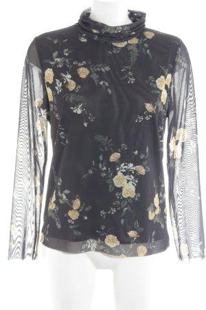 Soaked in luxury Schlupf-Bluse Blumenmuster Elegant