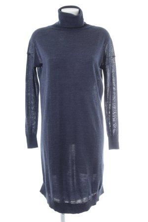 Soaked in luxury Strickkleid dunkelblau Casual-Look