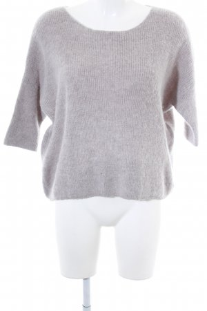 Soaked in luxury Wollpullover grau