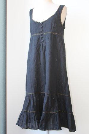 Soaked Inluxury Gr. L 40 schwarz Trägerkleid 100 % Baumwolle neu 1,10 m lang