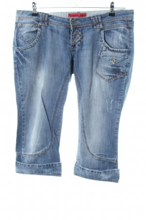 Soccx 3/4 Length Jeans blue casual look