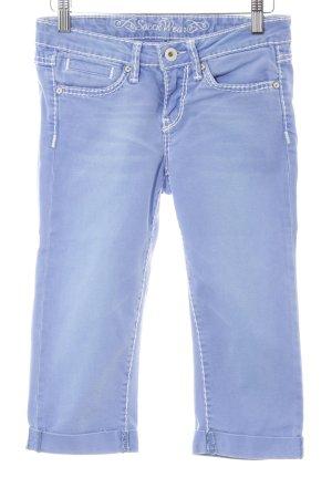 Soccx 3/4 Jeans himmelblau Casual-Look