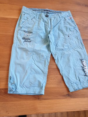 Soccx Pantalon 3/4 bleu clair