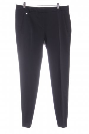 Soccx Pantalone da abito nero stile professionale