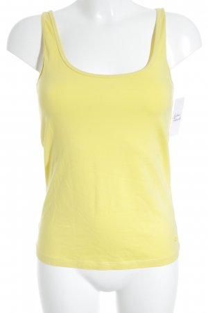 Soccx Basic Top yellow elegant