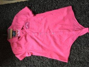 Soccx Blusa cruzada rosa